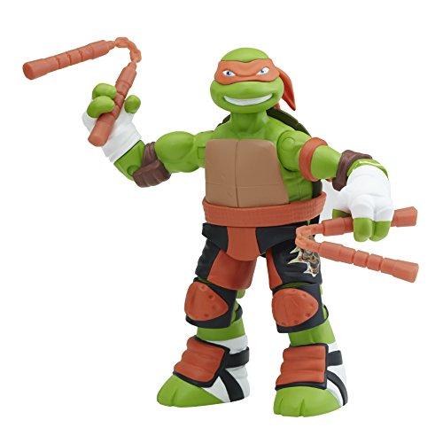 Teenage Mutant Ninja Turtles Battler Michelangelo Action Figure (Teenage Mutant Ninja Turtles Bad Guys)