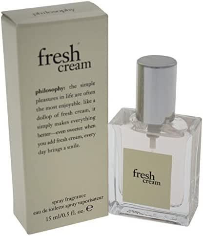 Philosophy Fresh Cream By Philosophy for Women - 0.5 Oz Edt Spray, 0.5 Oz
