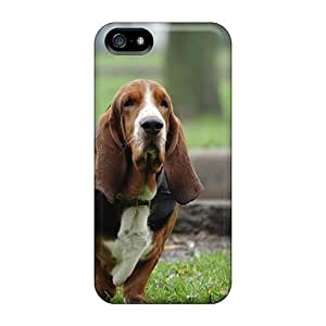 Hard Plastic HTC One M8 Cases Back Covers,hot Basset Hound Hunting Dog Cases At Perfect Customized