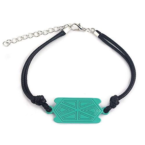 ADKING Miraculous Ladybug Turtle Charm Bracelet Tortoise Ladybug Cat Noir Jewelry