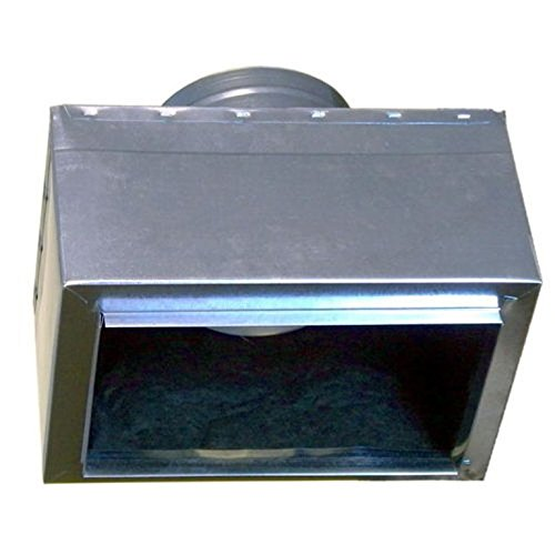 """10 x 6 (Register) Ceiling Box with 6"""" duct supply. Sheet Metal Sides Duckboard Insulated Inside."""