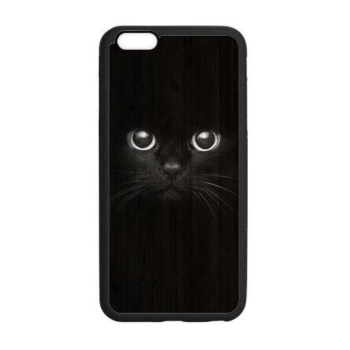 "Generic Customize Unique Otterbox--Cute Cat Plastic and TPU Case Cover iPhone6 Plus 5.5"" (Laser Technology)"