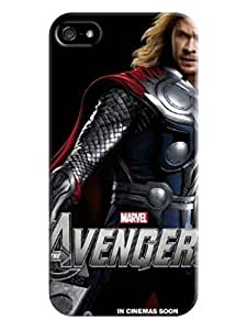 RebeccaMEI TPU Hot Cell Phone Protects Cover Case for iphone 5/5s on Sale,Chris Hemsworth Thor cool fashionable Designed