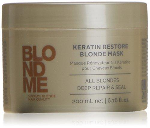 Schwarzkopf Professional - Blondme Keratin Restore Blonde Mask Treatment 200