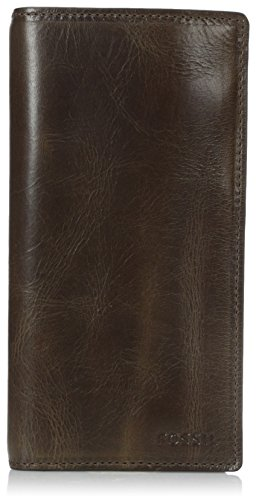 Fossil Men's Derrick Leather Executive Wallet