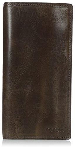 - Fossil Men's Derrick Leather Executive Wallet