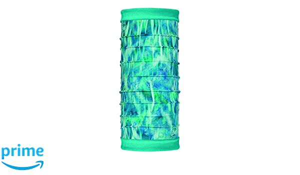 Buff Shimmer Tubular Reversible Polar Turquesa Talla /Única Mujer