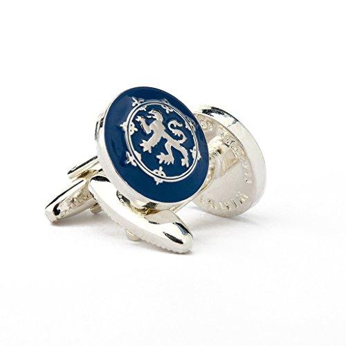 The Scottish Lion Men's Cufflinks by Wimbledon Cufflink Company