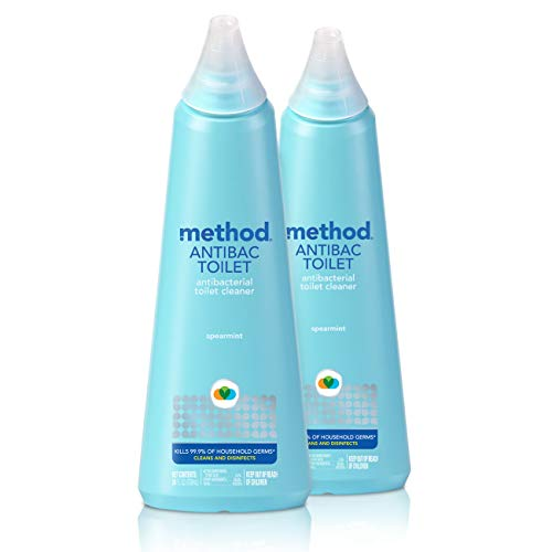 Method Antibacterial Toilet Bowl Cleaner - Spearmint - 24 oz - 2 pk