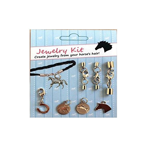 Horse hair bracelet trainers4me kelley do it yourself horse hair jewelry kit with jumper dressage charms solutioingenieria Image collections