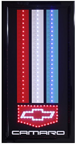 Crystal Art Sign Of The Times Camaro LED Lighted Sign, 10