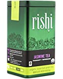 Rishi Tea Organic Jasmine Tea Loose Leaf Tea, 1.94 Ounces Tin