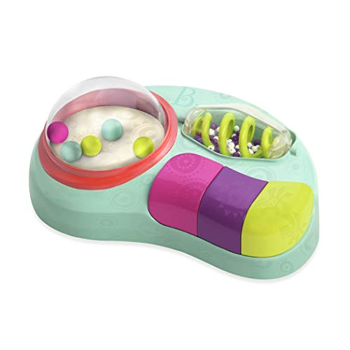 - B. Toys - Whirly Pop - Lights & Music Station Baby Toy with Suction Cups - 100% Non-Toxic and BPA-Free