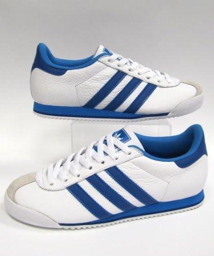 adidas Kick White with Blue Stripes