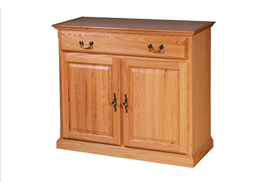 Forest Designs Traditional Oak Buffet: 42W x 36H x 18D 42w x 36h x 18d Honey (Honey Oak Buffet)