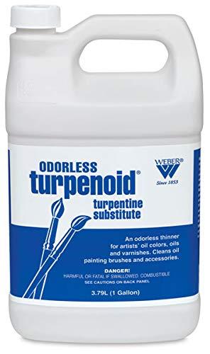 MARTIN/F. WEBER COMPANY BR1685 Odorless Turpenoid 128Oz 1 Gallon, 3.79L Bottle by MARTIN/F. WEBER COMPANY