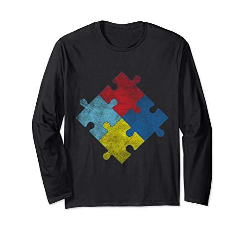 - Autism Awareness Long Sleeve T-Shirt