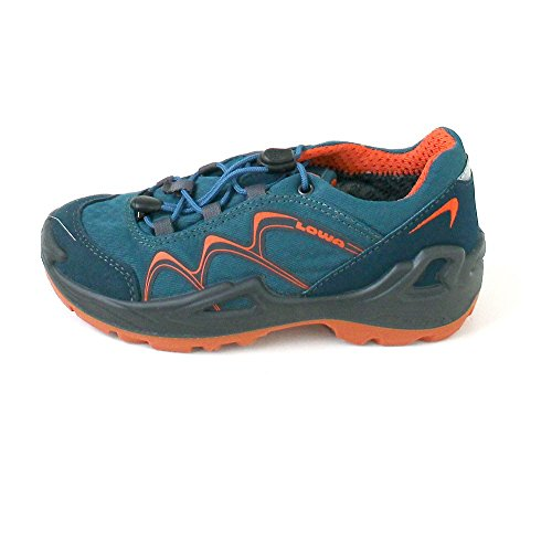 Lowa Innox Gtx - Zapatillas de senderismo de Material Sintético para niño turquesa Türkis (petrol/orange) Azul