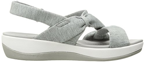 Fabric Women's Sandal Arla Grey Heathered Primrose CLARKS qYwZC6xdZ