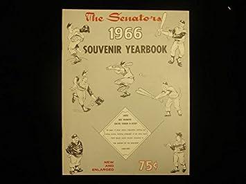 1966 Washington Senators Souvenir Yearbook