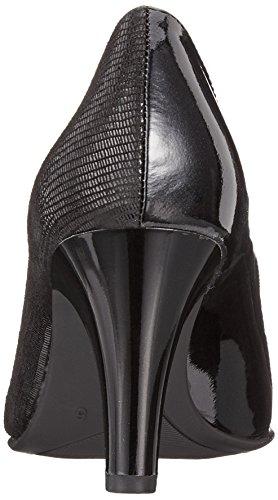 Scarpe con Black Caprice Donna 31 Nero 22400 Tacco comb Rep wqZARRx6U4