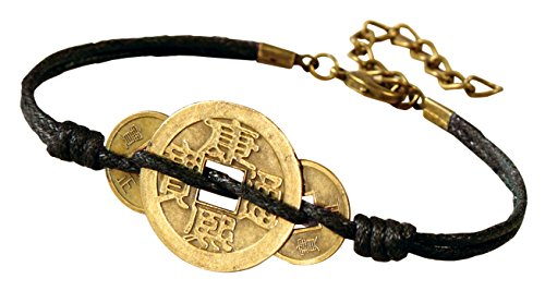 Bracelet Coin Chinese (The Paragon Lucky Coin Bracelet - Jewelry Wealth, Luck, Protection)