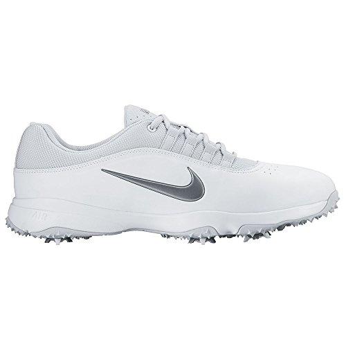 Nike 2016 Air Rival 4 Golf Shoes White/Pure Platinum/Meta...