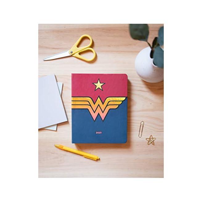 17 mesi lavoro e tempo libero 16x20 cm Agenda Premium Settimanale 2020//2021 Marvel Wonder Woman ideale per la scuola