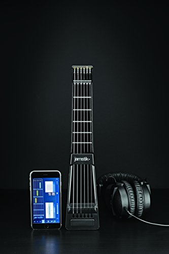 Jamstik+ Black Portable App Enabled MIDI Electric Guitar, for Beginners and Music Creators, iOS, Android & Mac Compatible, with Bluetooth Connectivity, Powered by Zivix by Zivix (Image #8)