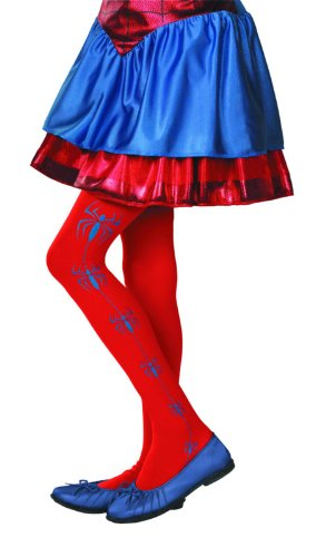 Marvel Spider-Girl Pantyhose Child (Spider Girl Costume For Kids)