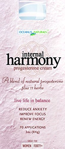 Internal Harmony Progesterone Cream, 3 oz (Pack of 4) by DreamBrands