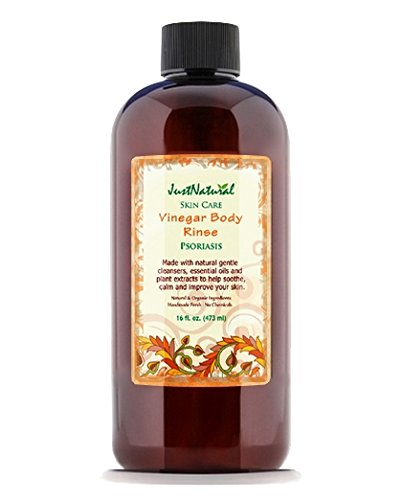 Psoriasis Vinegar Body Rinse Cleanser | Best Body Rinse With Unique Nutritive (Herbal Cider Hair Rinse)