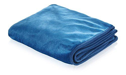 SmartPetLove Snuggle Blanket for Pets, 48'' x 30'', Rich Blue