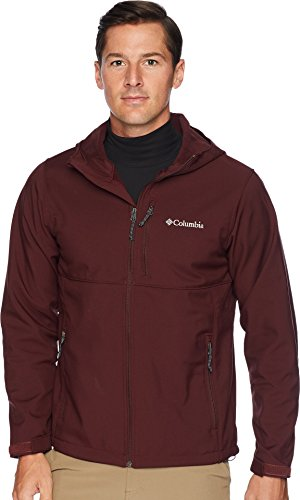 Columbia Men's Ascender Hooded Softshell Jacket, Elderberry, L