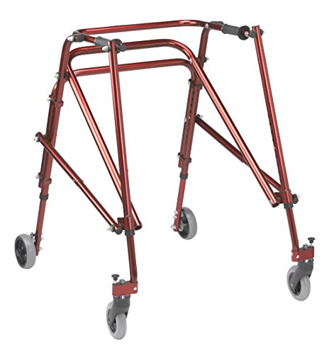 Inspired by Drive Nimbo 2G Lightweight Posterior Walker, Castle Red, L