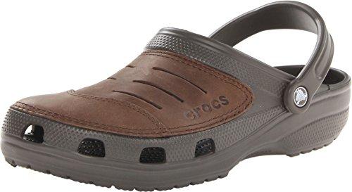 Croc Shoe Front (Crocs Men's Bogota, Chocolate, M9)