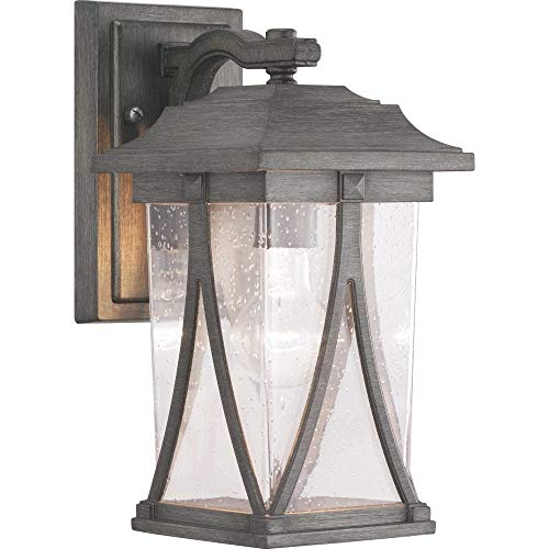 60113-103 Abbott Collection One-Light Small Wall Lantern, Antique Pewter ()