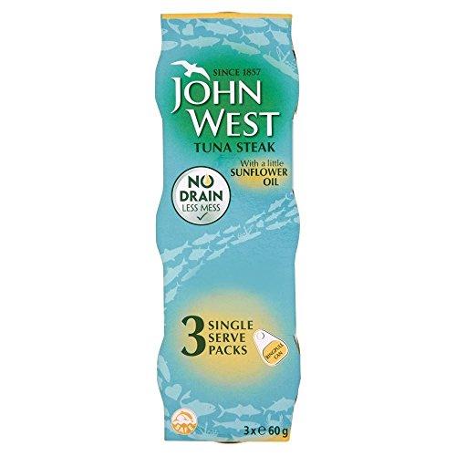 (John West Tuna Steak in Sunflower Oil (3x60g))