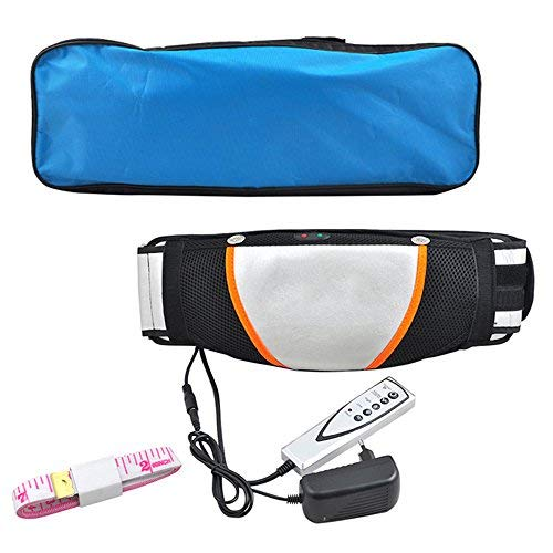 enshey–Cinturón para adelgazar Peso Perder Belt Waist Trimmer–Cinturón Cuerpo Masajeador Vibrador Calefacción...