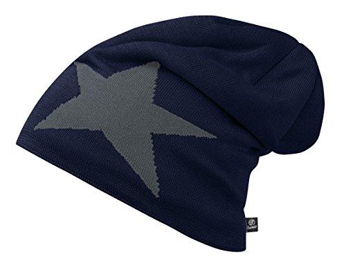 of Brandit Pack Beanie Unisex 2 Star Navy R1S7Iq