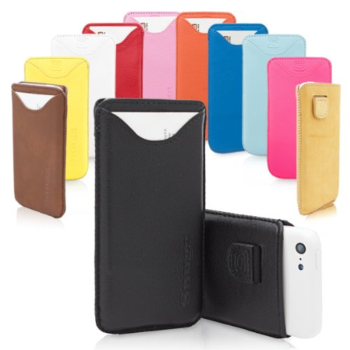 Snugg Leather Case for iPhone 5C