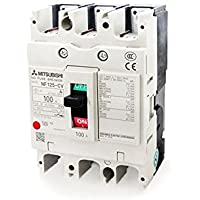 MITSUBISHI ELECTRIC NF125-CV 3P 100A Circuit Breakers(3 pole)(Rated current 100A) NN