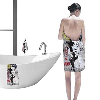 Printsonne Customized Bath Towel Combination Modern Teenage Girl on Modern Generation Fancy Hand Towels Set