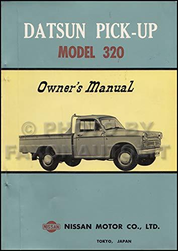 1962-1964 Datsun Pickup Truck Owner's Manual Original 320 Model