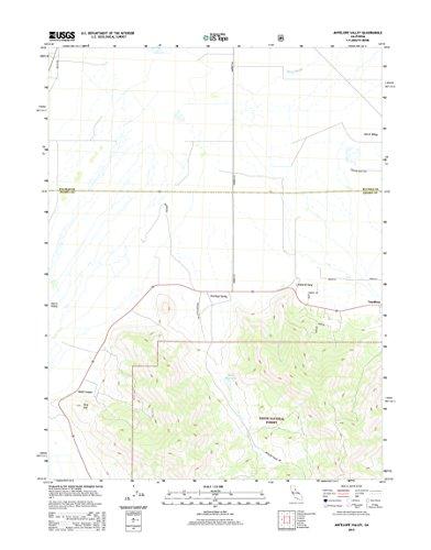 Topographic Map Poster - ANTELOPE VALLEY, CA TNM GEOPDF 7.5X7.5 GRID 24000-SCALE TM 2012 16