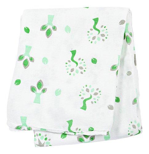 lulujo Bamboo Muslin Swaddling Blanket