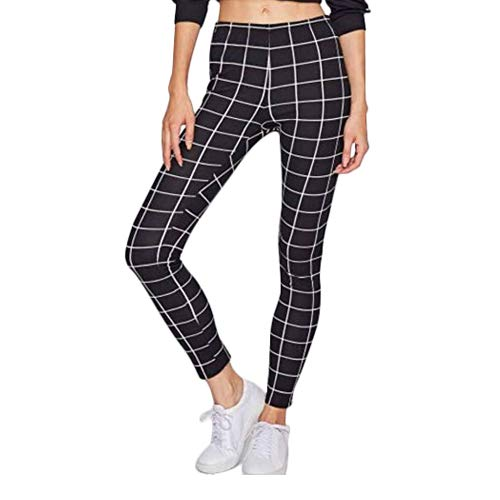 220fc83e6232c she knows it Plaid Printed Sports Leggings Gym Tights/Yoga Pants for  Women/Girls