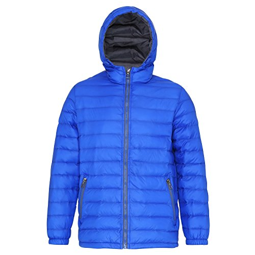 Water Resistant amp; Padded Wind Hooded Jacket Navy Mens 2786 Sapphire PqOvXEW