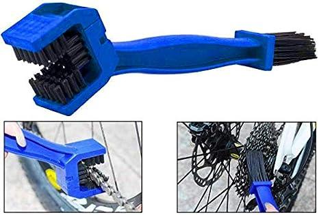 Demarkt® - Cepillo para Limpiar la Cadena de la Moto Bicicleta ...
