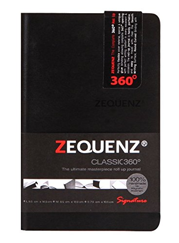 Zequenz Classic 360 Soft Cover Notebook, Pocket size jour...